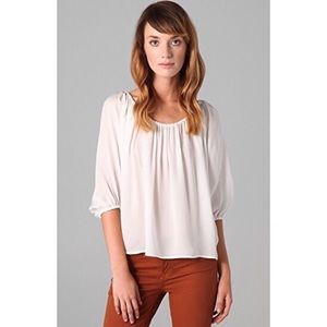 Soft Joie White Newbury Dolman Blouse